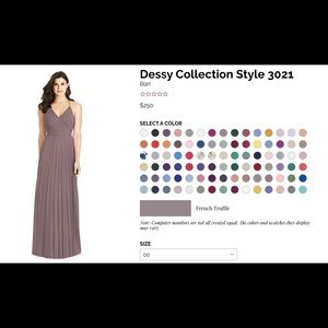 Dessy Collection Style 3021 - Color-French Truffle